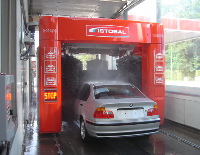 istobal car wash machine