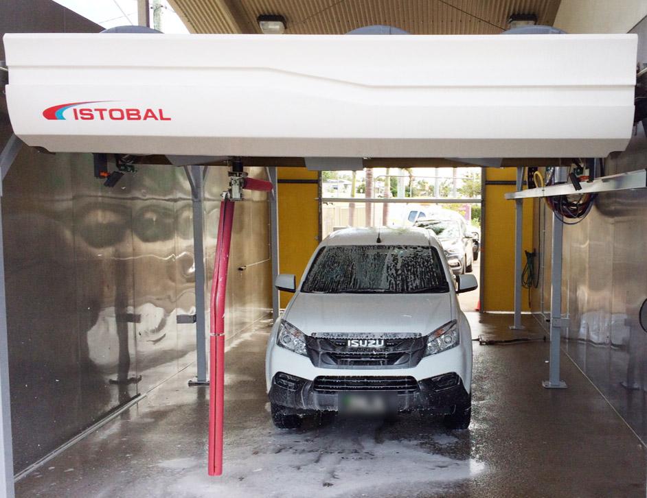 queensland car wash machine installation