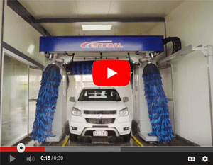 car wash equipment video