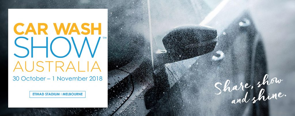 car wash show australia 2018