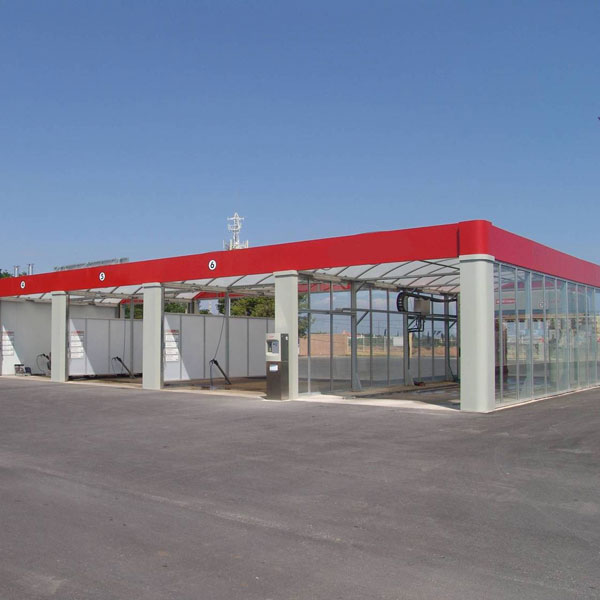 car wash enclosure installation canberra
