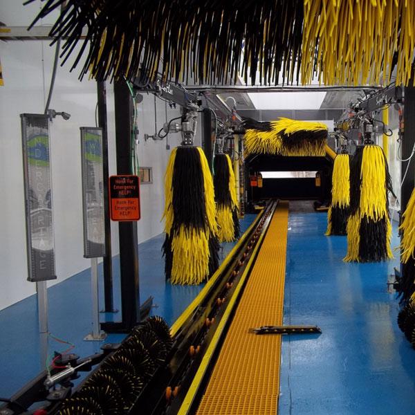 tunnel conveyor car washes