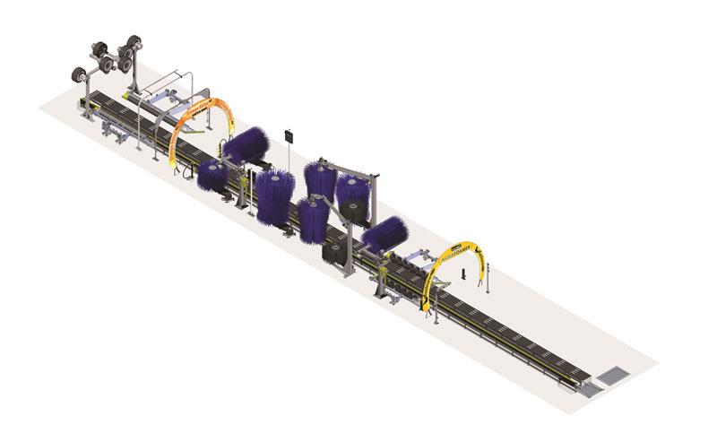 car wash conveyor system