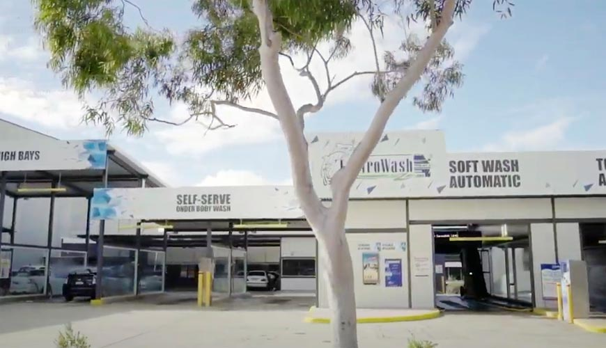 car wash installation sydney